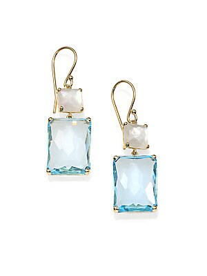 Click here for Rock Candy Gelato Blue Topaz  Clear Quartz  Mother... prices