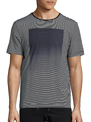 Graphic Striped Tee