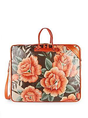 Blanket Floral Weekender Bag