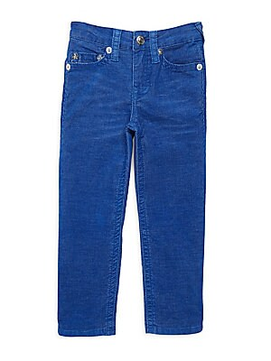 Boy's Slim-Fit Cord Jeans