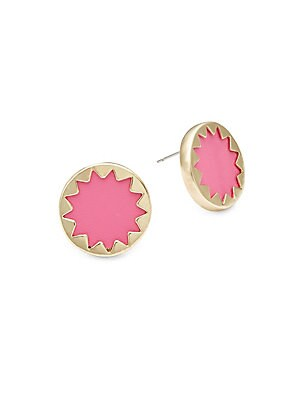 Sunburst Post Earrings