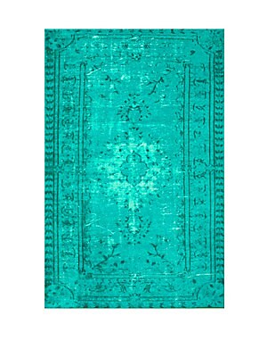 Machine Made Distressed Rug