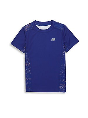 Little Girl's Short Sleeve Performance Tee
