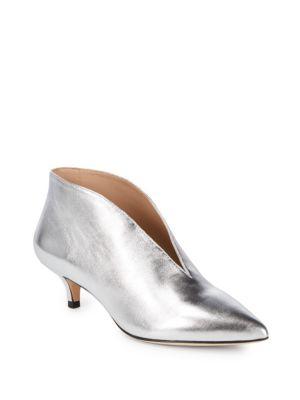 Kora Nappa Leather Kitten Heels