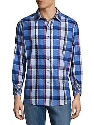 Prevost Cotton Casual Button-Down Shirt