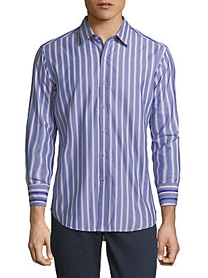 Crosswall Cotton Casual Button-Down Shirt