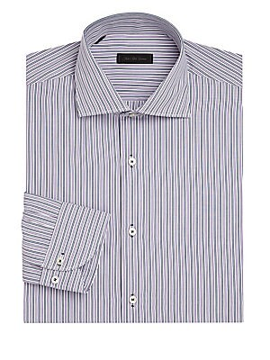 COLLECTION Twin Striped Dress Shirt