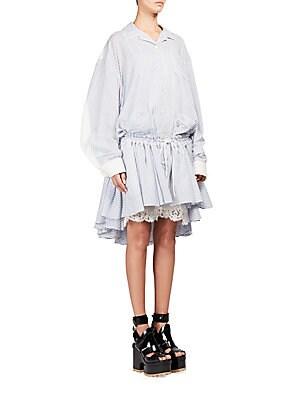 Pajama Striped Dress