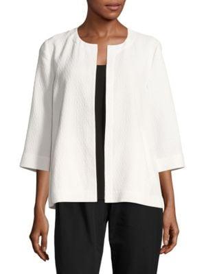 Crinkle Cotton Jacket