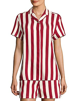 Striped Camp Shirt