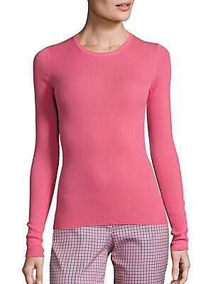 Long Sleeve Cashmere Pullover