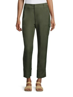 Grometted Cargo Pants