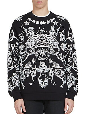Allover Tattoo Sweatshirt