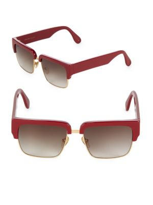 55MM Little God Square Sunglasses