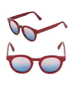 Gradient 45MM Round Sunglasses