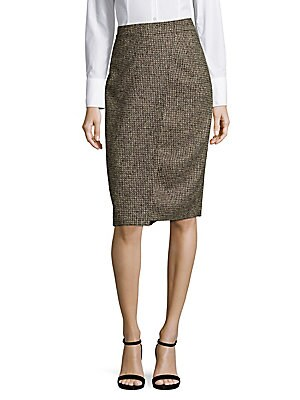 Reo Tweed Pencil Skirt