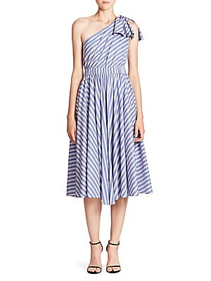 Anna One-Shoulder Dress