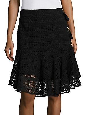 Marina Cotton Lace Skirt