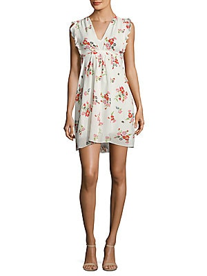 Floral Print Marguerite Dress