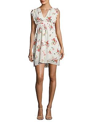 Floral Print Marguerite Dress