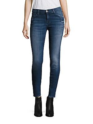 620 Shadow Pocket Super Skinny Jeans/Gone