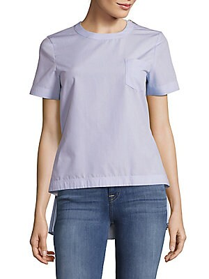 Belted One Pocket Tee
