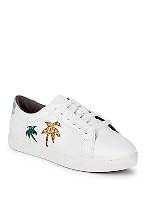 Vanellope Sequin Palm Tree Sneakers