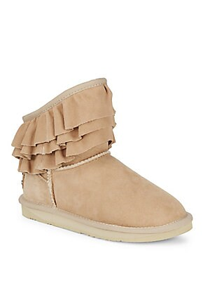Chapel Short Ruffle Boots