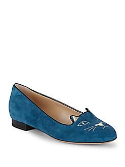 抢!明星大咖都爱的Charlotte Olympia猫咪鞋4折拿下!