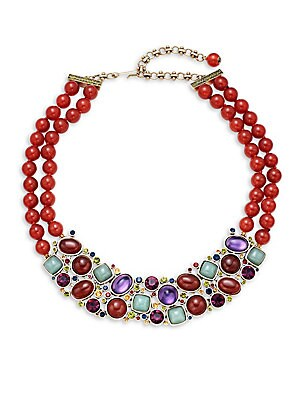 Cabochon Collar Necklace