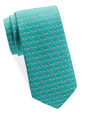 Elephant Silk Tie Gift Set