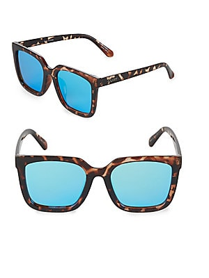 64MM Square Sunglasses
