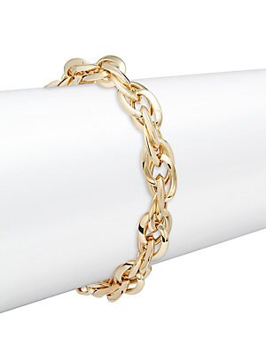 14K Yellow Gold Twist Bracelet