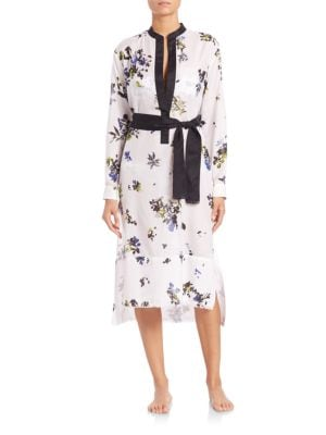 Voile Shirtdress Coverup