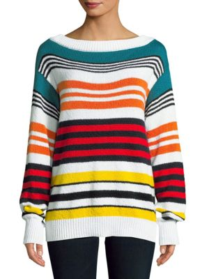 Multicolored Cotton Sweater