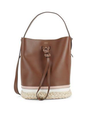 Vittoria Drawstring Bucket Bag