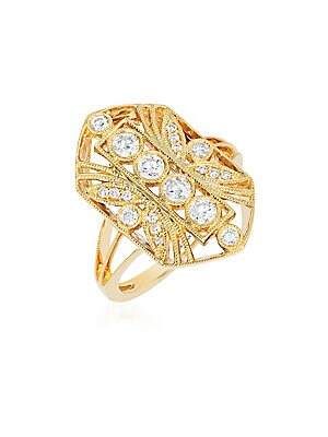 Le Vian Diamond & 14K Yellow Gold Ring