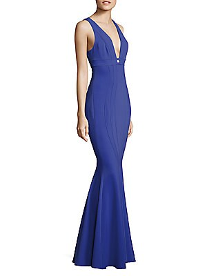 Ariana Mermaid Jersey Gown