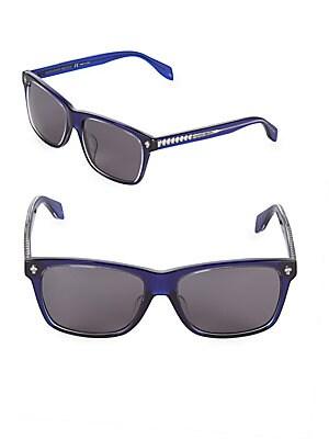 57MM Rectangle Sunglasses