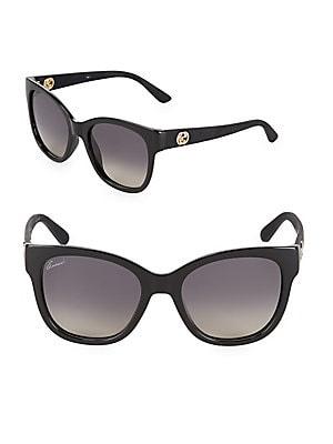 Gradient 54MM Wayfarer Sunglasses