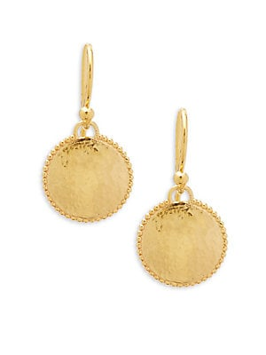 22K Gold Drop Earrings