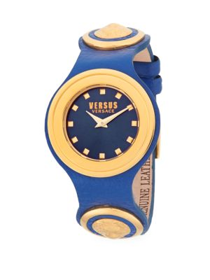 CARNABY STREET LEATHER STRAP WATCH