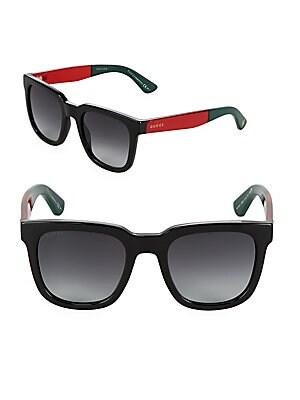 Gradient 52MM Wayfarer Sunglasses