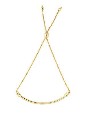 Adjustable Goldtone Chain Bracelet