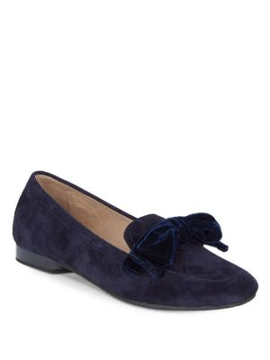 Harriet Suede Velvet Loafers