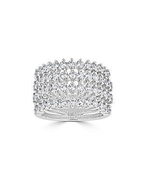 Click here for Ideal-Cut Diamond and 14K White Gold Ring prices