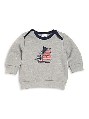 Baby's Boat Graphic Sweatshirt