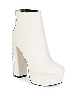 Dolce Vita - Liv Studded Platform Ankle Boots