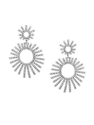 Elegant Crystal Drop Earrings
