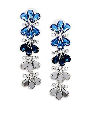 Crystal Ombre Drop Earrings
